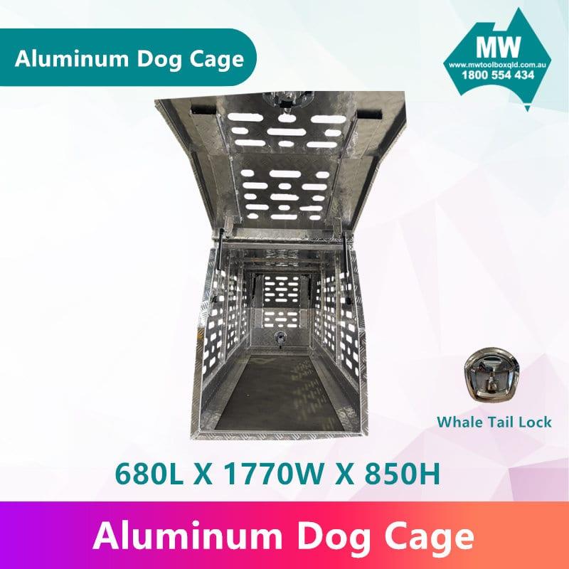 Aluminium Dog Cage-3