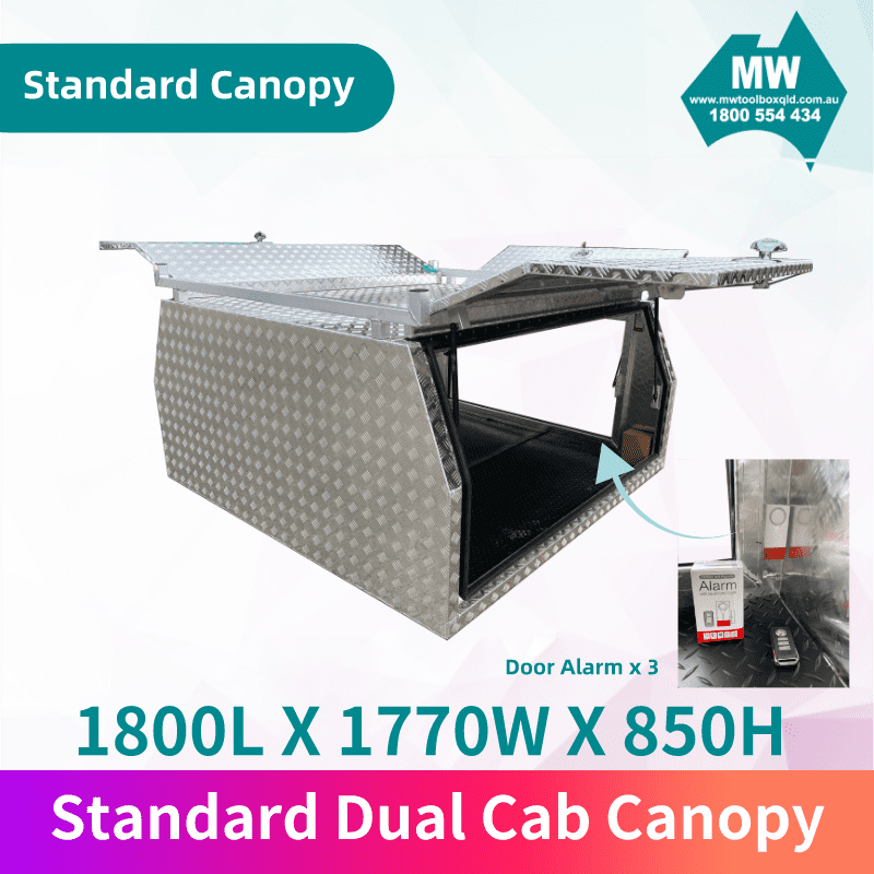Dual Cab Canopy 2