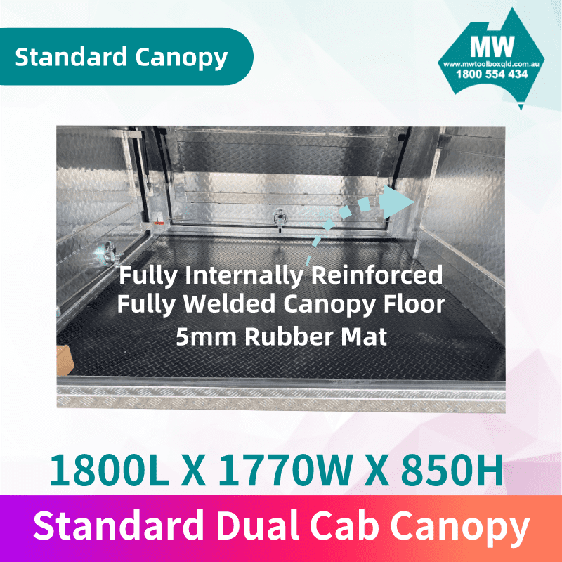 Dual Cab Canopy 3
