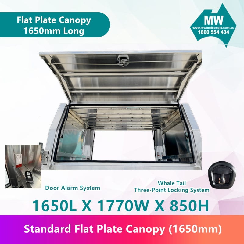 Flat Plate Canopy 1650mm long-2