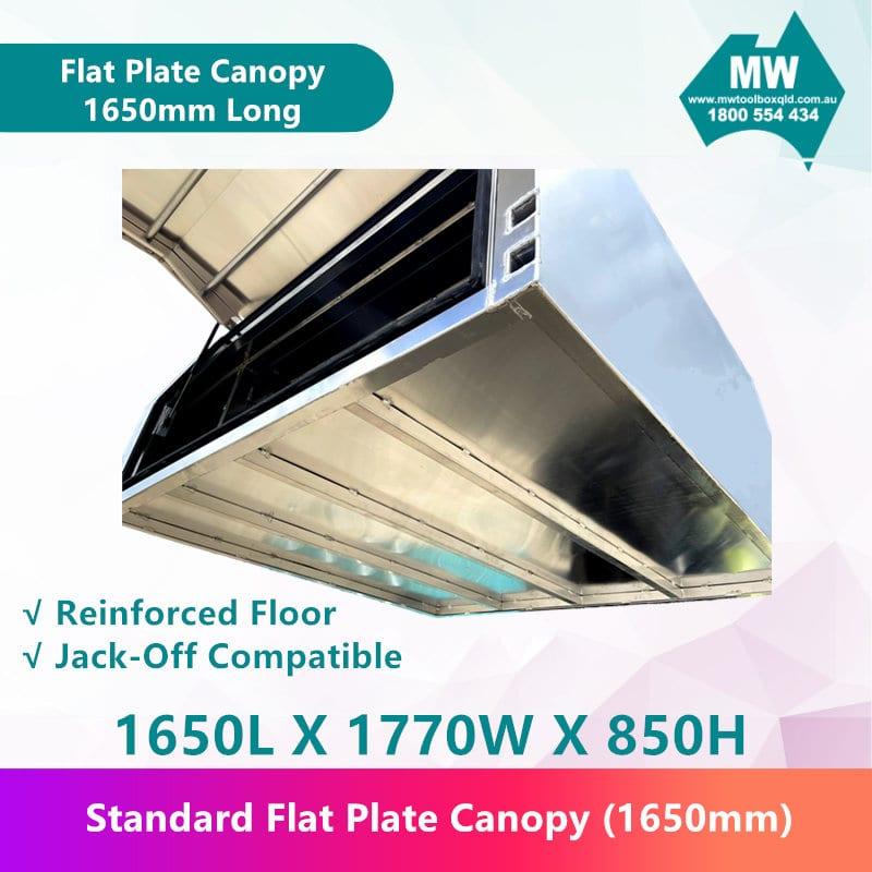 Flat Plate Canopy 1650mm long-3