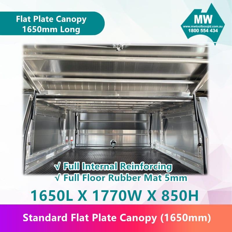 Flat Plate Canopy 1650mm long-4