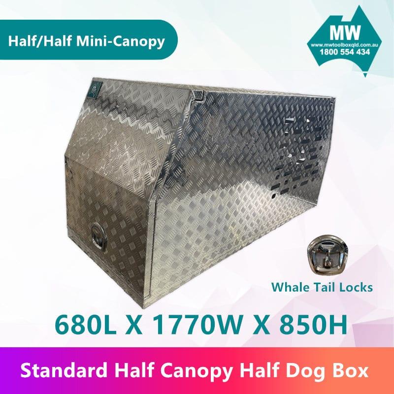 Half Dog Box Half Mini Canopy-2