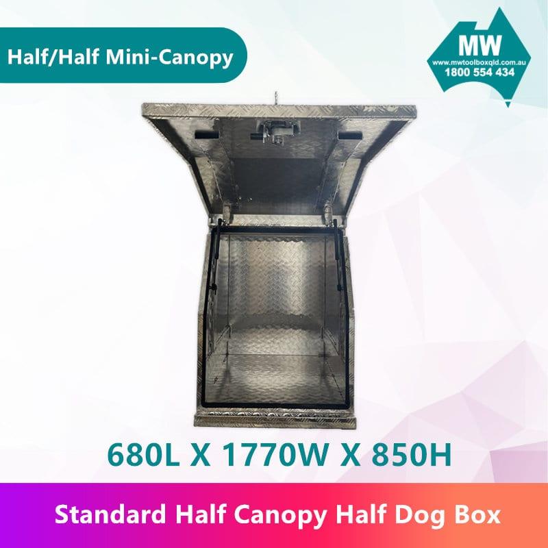 Half Dog Box Half Mini Canopy-4