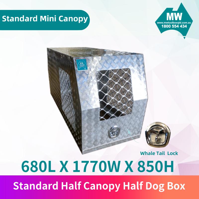Standard half canopy half dog box 1