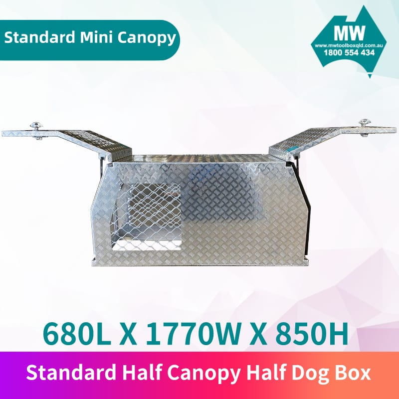 Standard half canopy half dog box 2