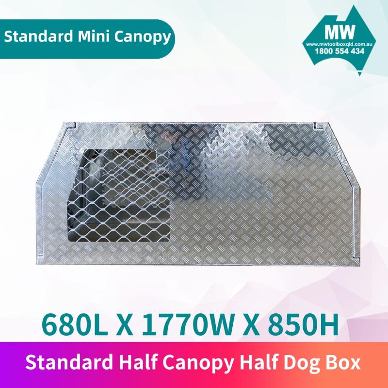 Standard half canopy half dog box 3