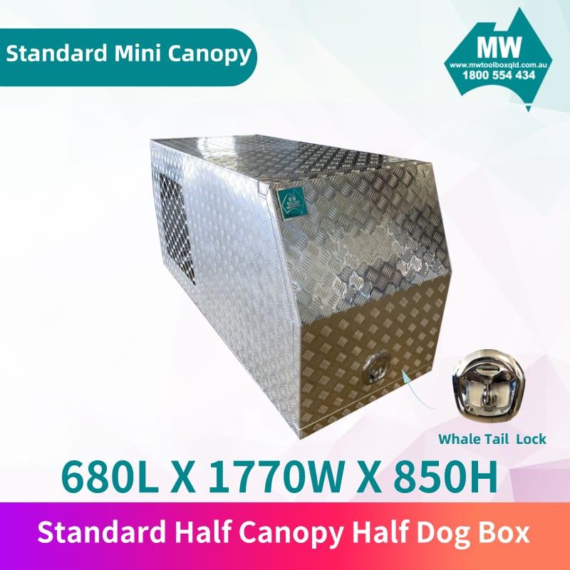 Standard half canopy half dog box 4