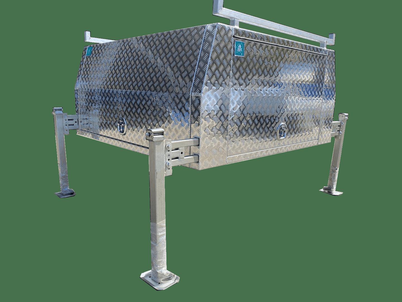 Standard jack off Dual Cab Canopy 2