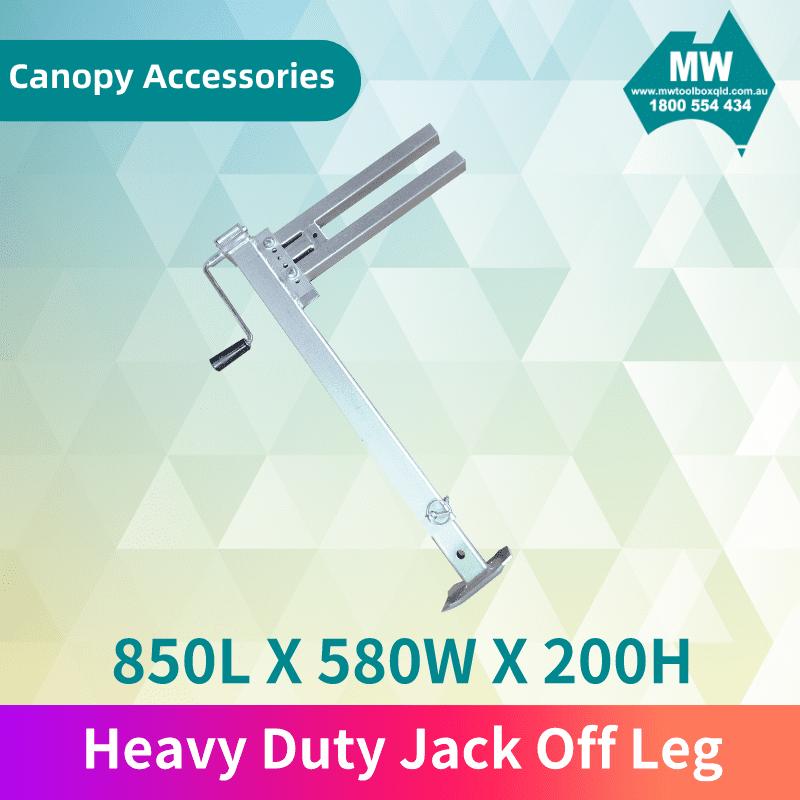 Heavy Duty Jack Off Leg
