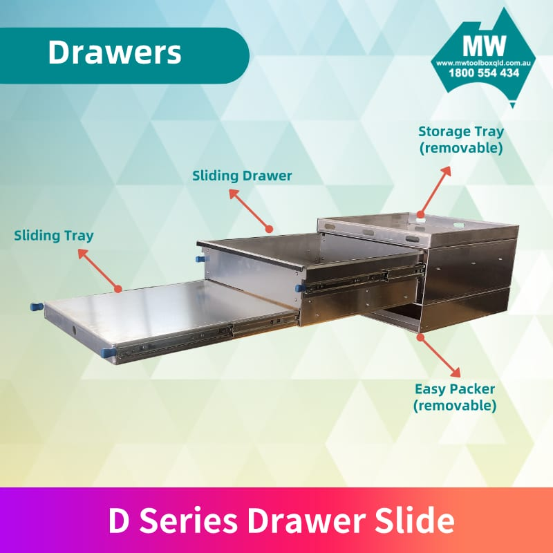 D Drawer Slide
