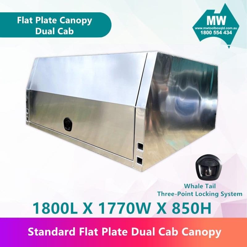 Flat Plate Canopy Dual Cab-1