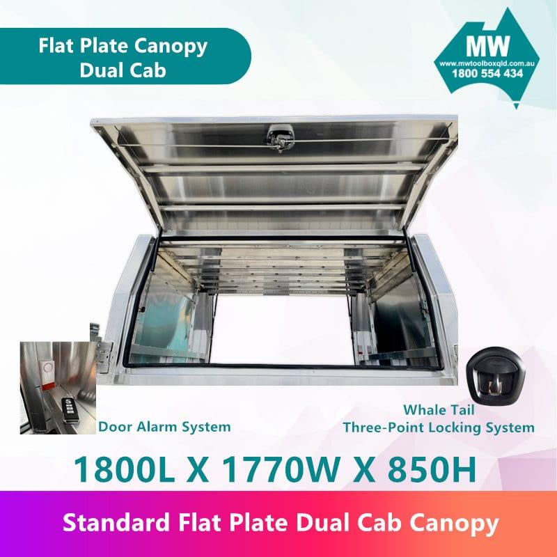 Flat Plate Canopy Dual Cab-2