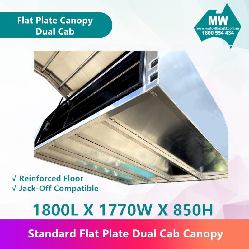 Flat Plate Canopy Dual Cab-3