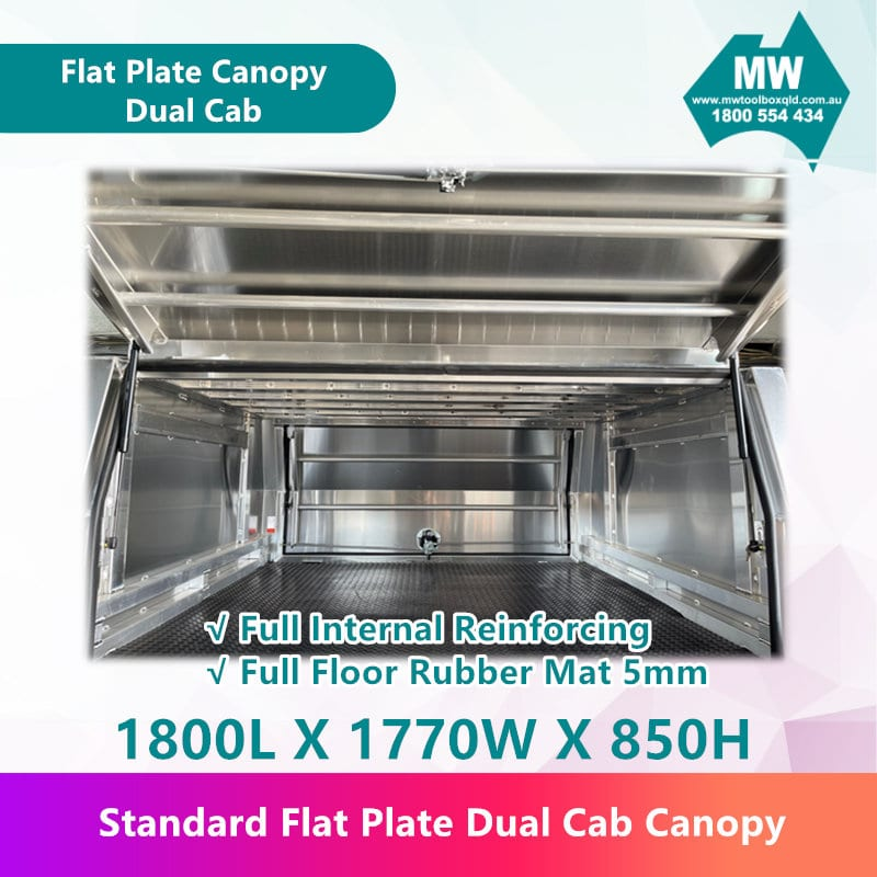 Flat Plate Canopy Dual Cab-4