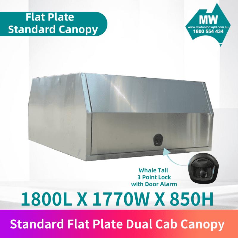 Flat plate dual cab 1
