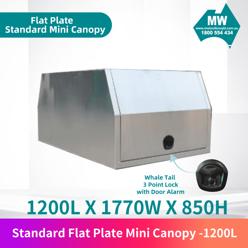 Flat plate mini canopy 1200L 1