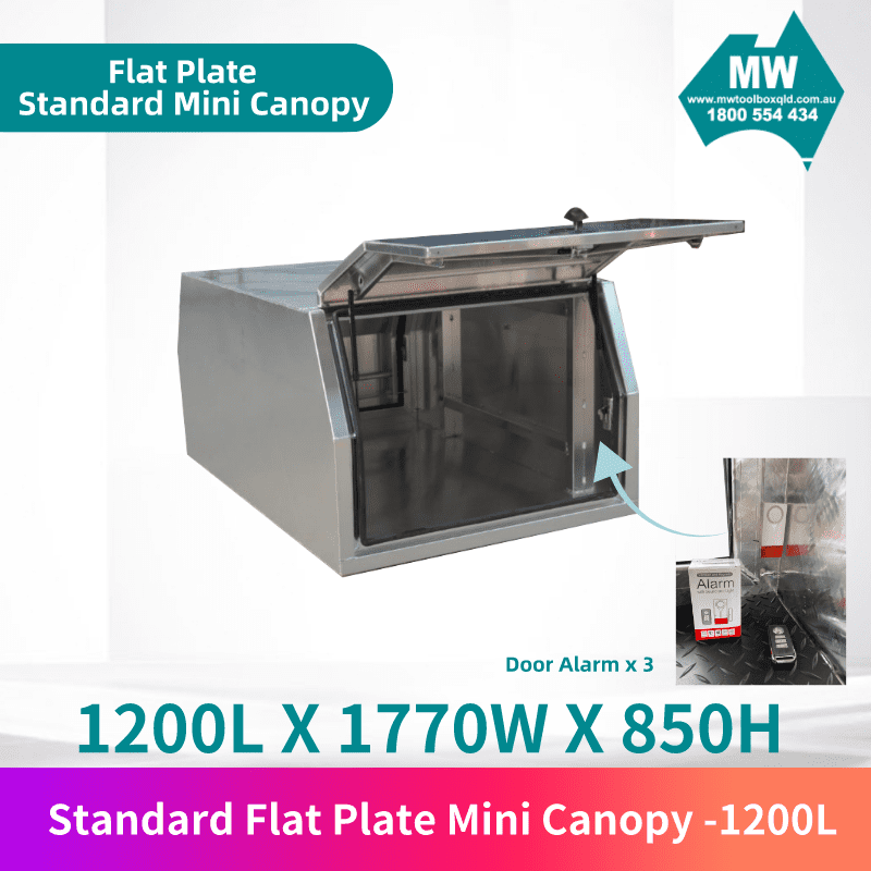 Flat plate mini canopy 1200L 2