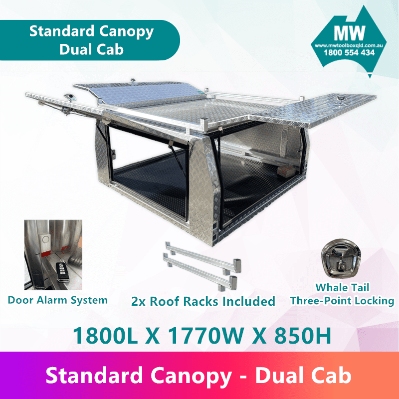 Standard Canopy Dual Cab (2)