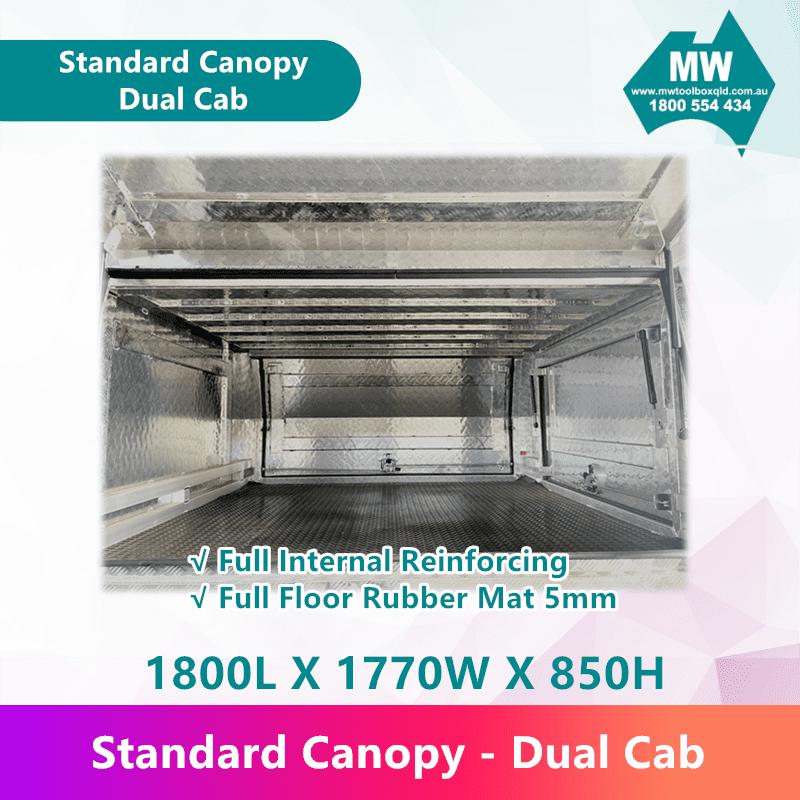 Standard Canopy Dual Cab (4)