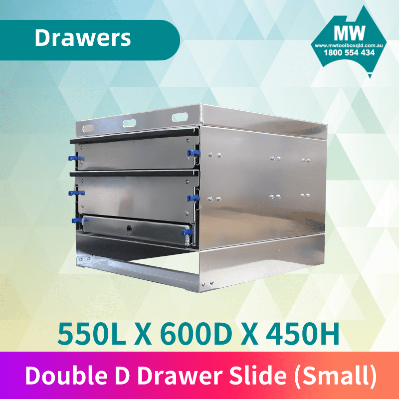 Double D Drawer Slide Small