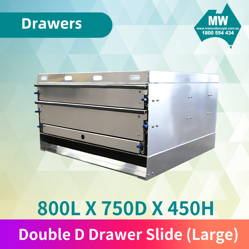 Double D Drawer Slide BIg