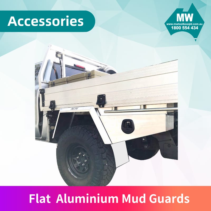 Flat Aluminium Mud Guards