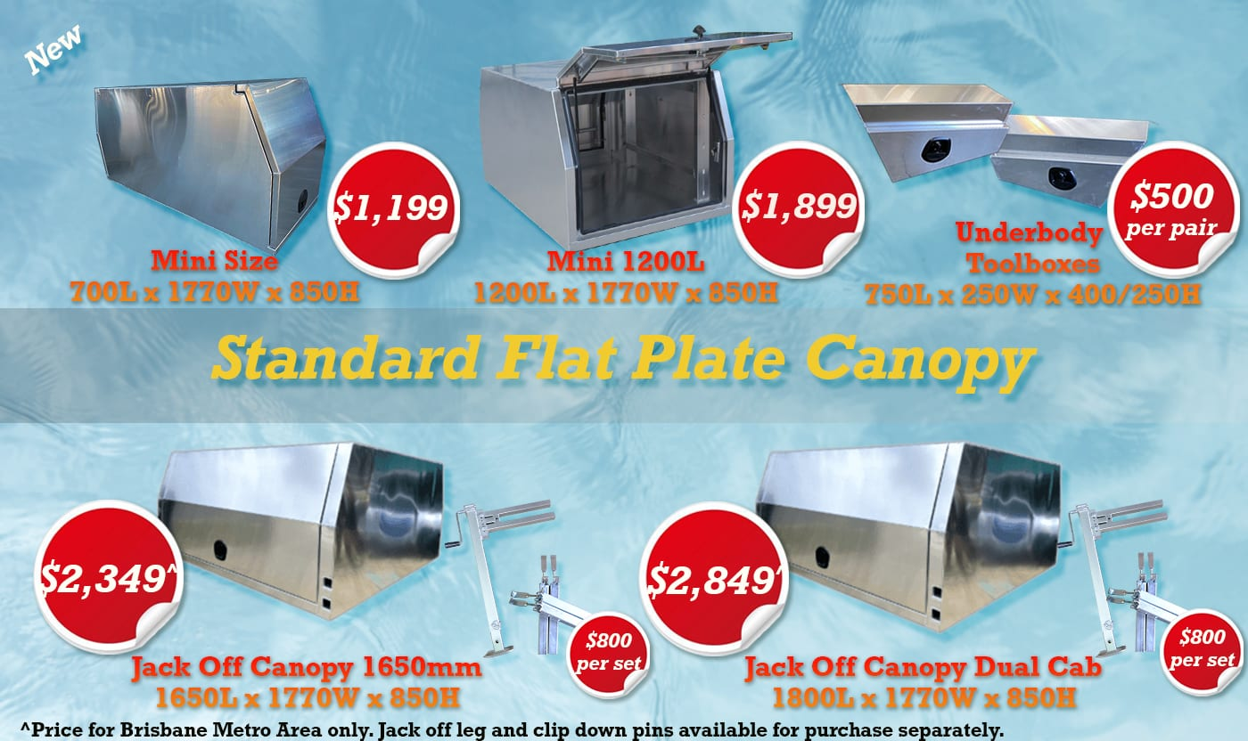 flat plate canopy
