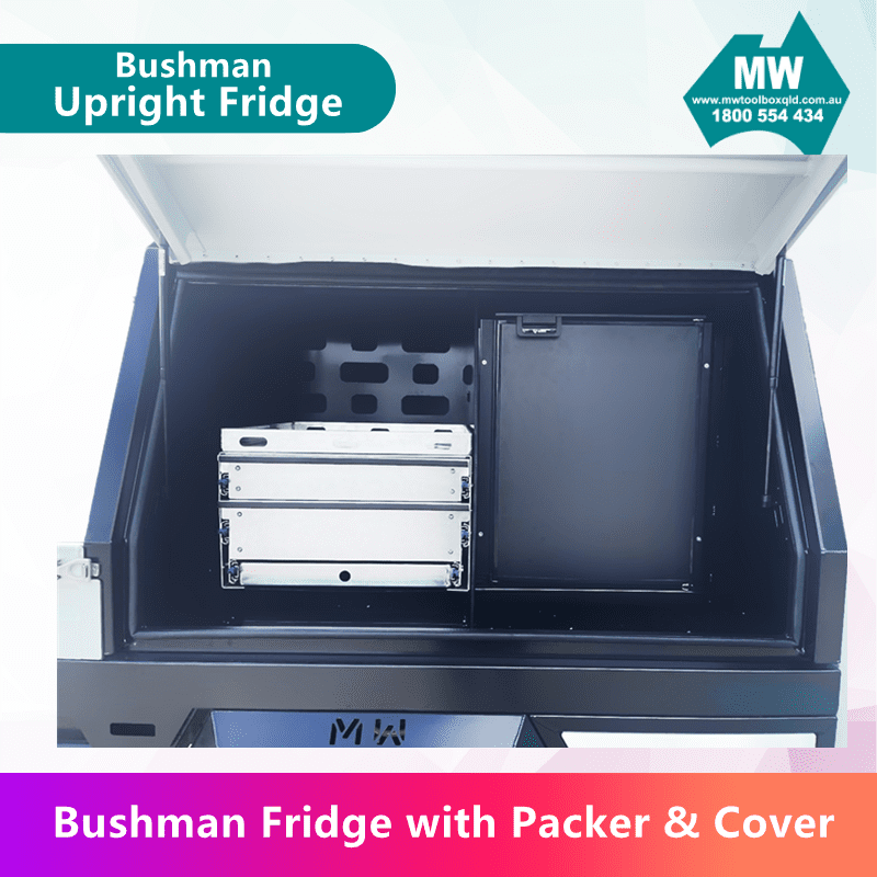 Fridge with packer&cover