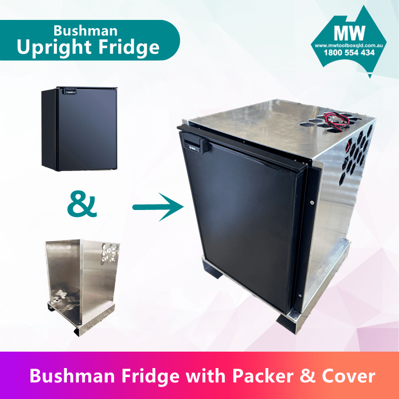 fridge with cover  packer -2