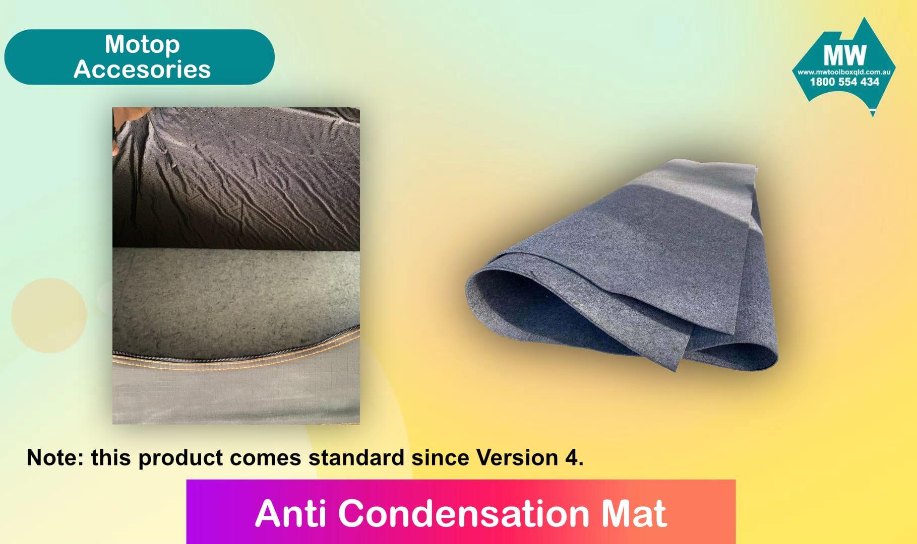 Anti-Condensation Mat