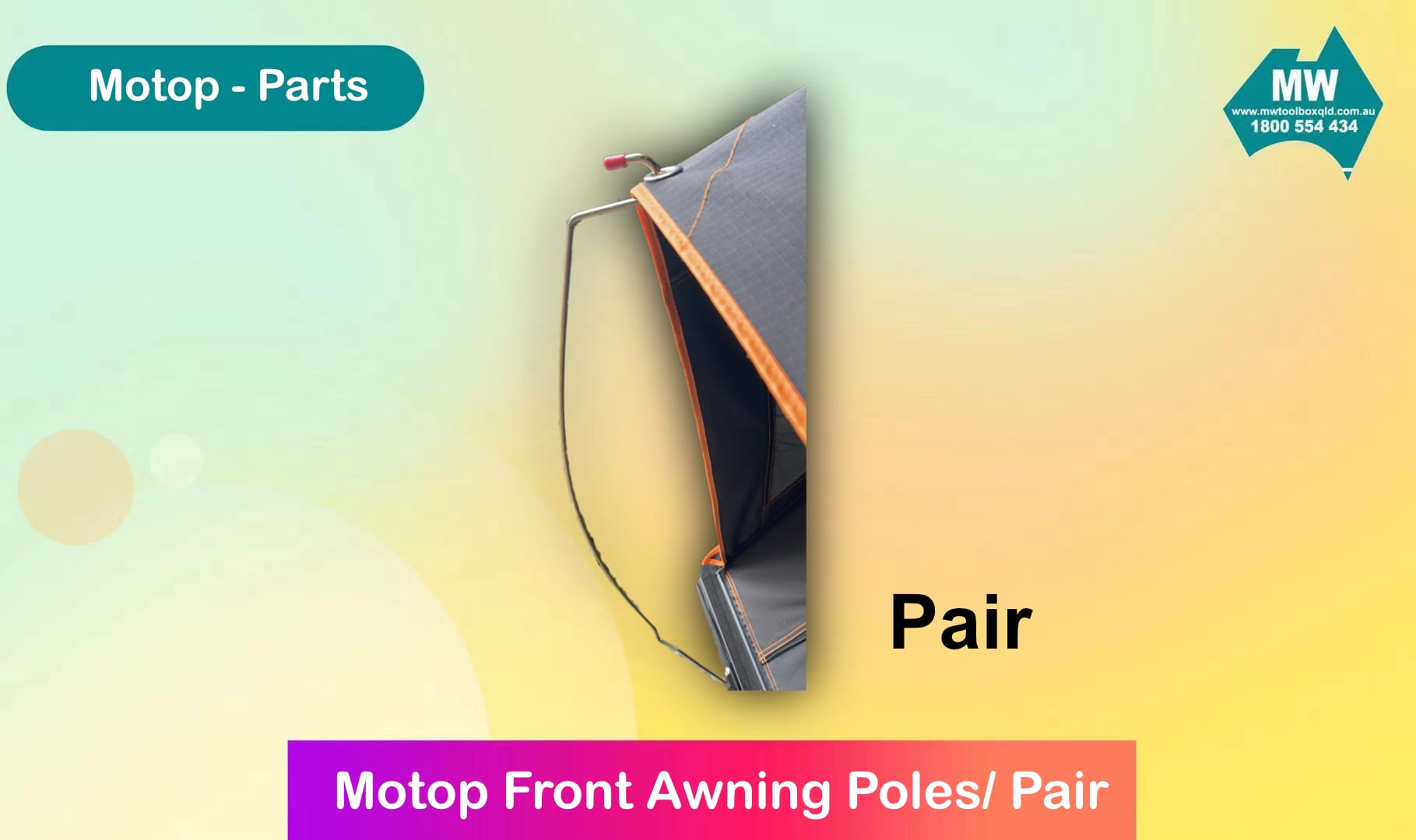 Front Awning Poles