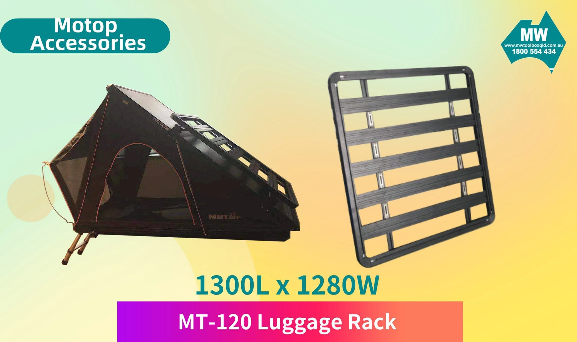 MT-120 Luggage Rack